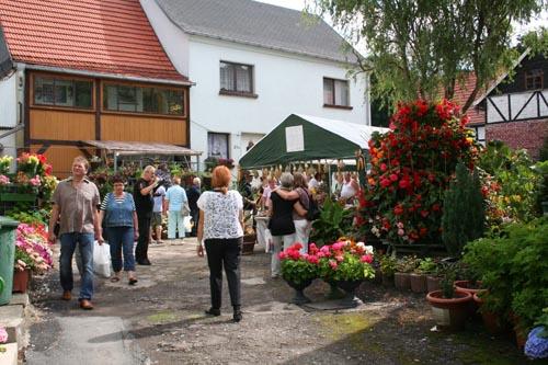 Färbefest in Neckeroda